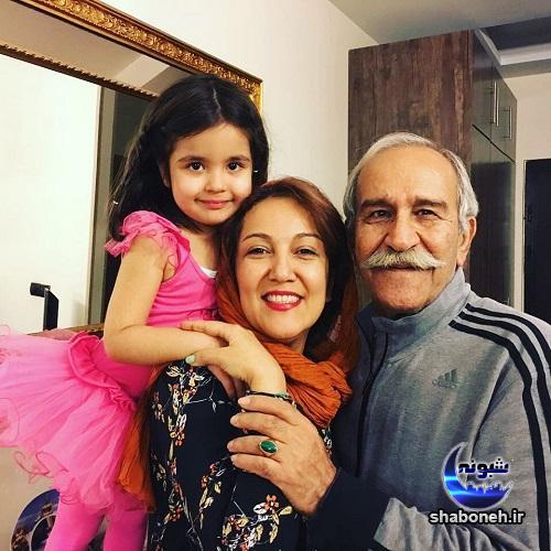 بیوگرافی پانته آ بهرام و همسرش