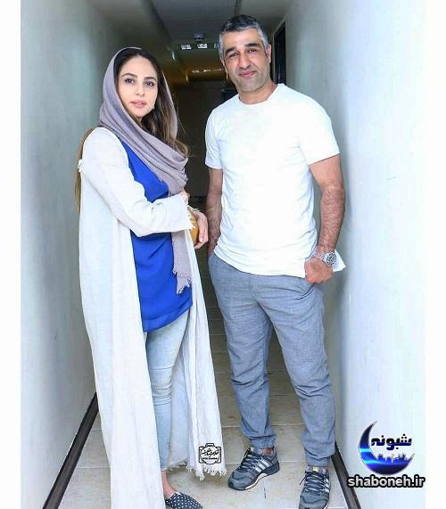 بیوگرافی رعنا آزادی ور و همسرش