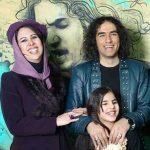 بیوگرافی رضا یزدانی و همسرش شبنم لالمی +نحوه آشنایی و دخترش