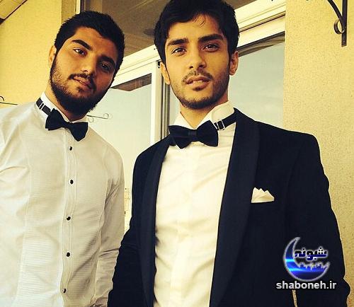 ساعد سهیلی و برادرش سینا مهراد