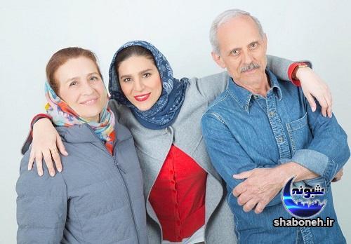 عکس های سحر دولتشاهی و پدر و مادرش