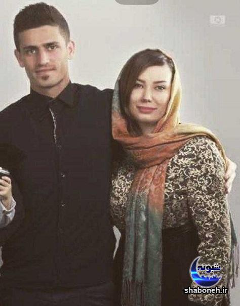 بیوگرافی وریا غفوری و همسرش