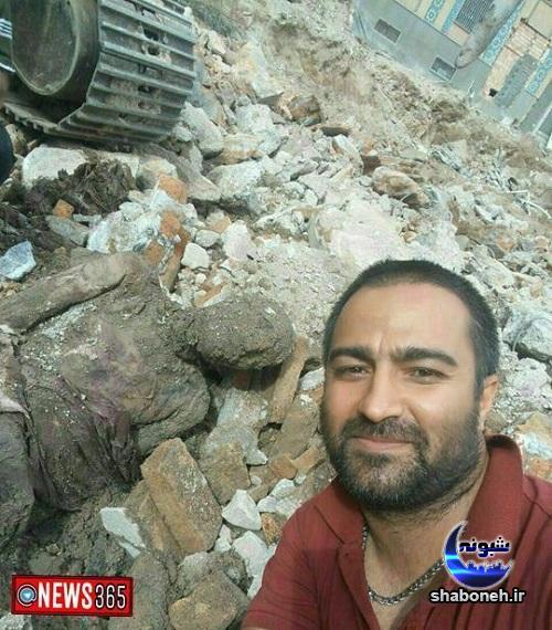 عکس جسد مومیایی رضا خان