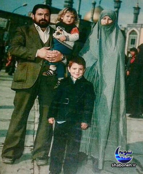 پدر و مادر علی انصاریان
