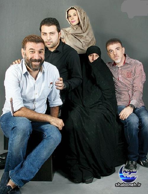 بیوگرافی علی انصاریان و همسرش + خانواده و خواهر و برادر علی انصاریان