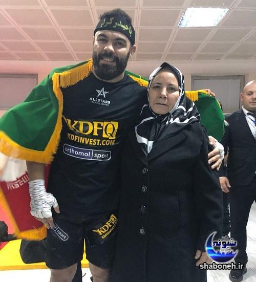 بیوگرافی امیر علیاکبری و همسرش و مادرش