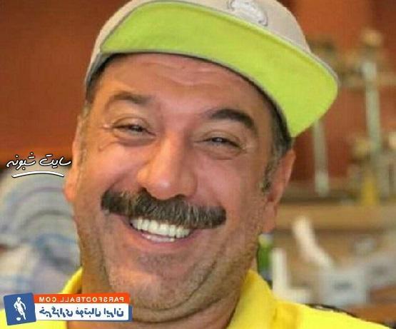 عکس جنجالی علی انصاریان فوتبالیست و بازیگر برنامه دورهمی