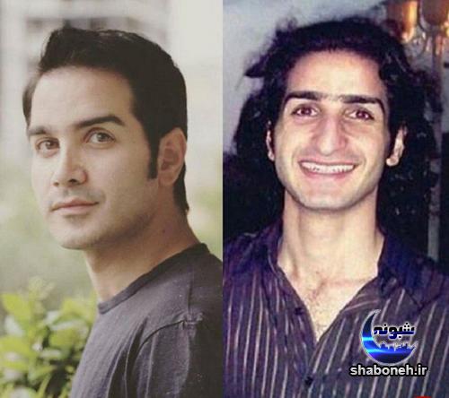 محسن یگانه قبل از عمل دماغ و عکس قدیمی از محسن یگانه خواننده