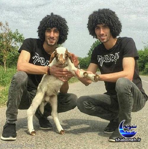 عکس مجتبی و مصطفی بلال حبشی