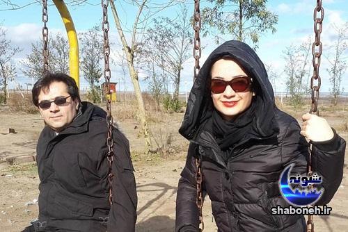 بیوگرافی نسرین نصرتی و همسرش
