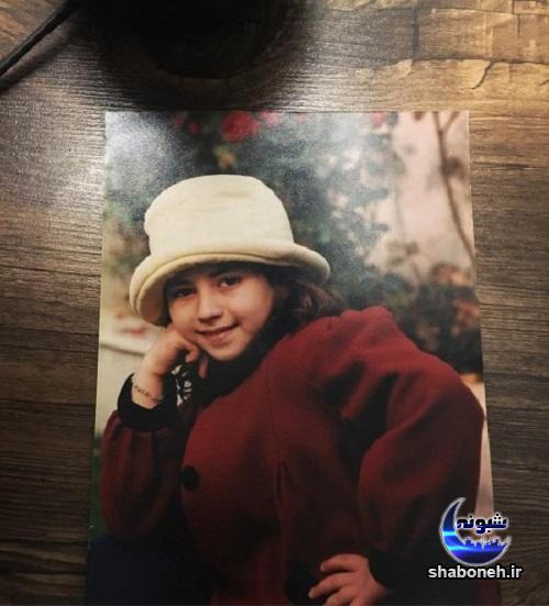 عکس کودکی نیلوفر رجایی فر