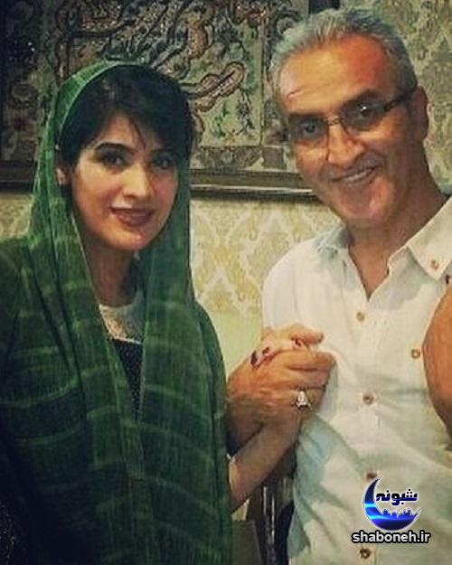 بیوگرافی ریحانه رضی و همسرش