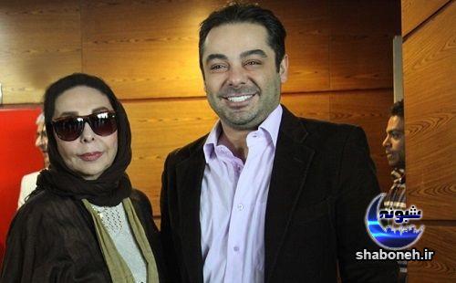 بیوگرافی سام قریبیان و همسرش