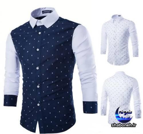 مدل پیراهن مردانه ساده و طرح دار