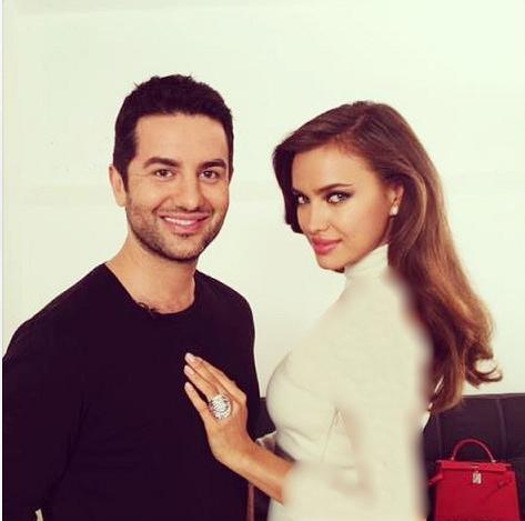 بیوگرافی علی کاووسی و نامزدش ایرینا شایک