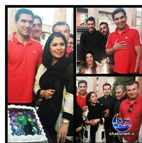 بیوگرافی امیر عابدزاده و همسرش