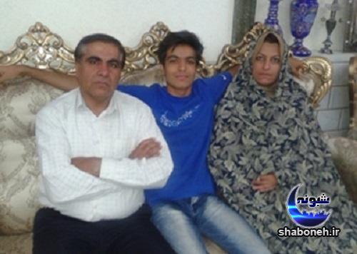 بیوگرافی امیر غفور والیبالیست و همسرش