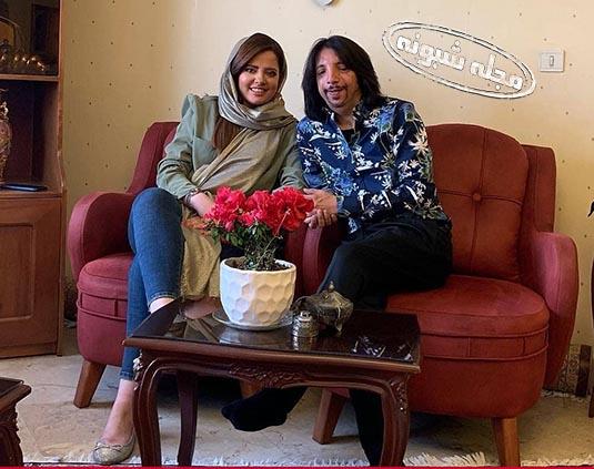 بیوگرافی فرهاد ایرانی و همسرش مهسا قنواتی + عکس های شخصی و بیماری