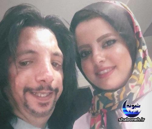 عکس های دو نفره فرهاد ایرانی و همسرش
