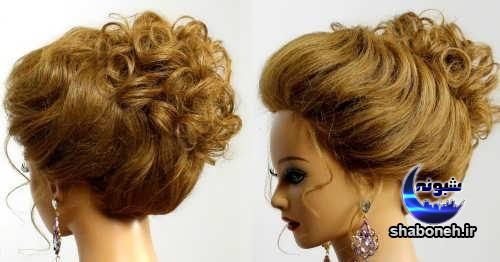 مدل موی بسته و نیمه باز