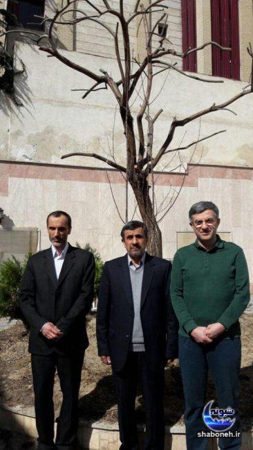 حمید بقایی و احمدی نژاد و مشایی