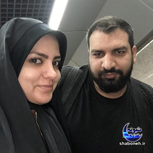بیوگرافی هاشم تفکری بافقی و همسرش
