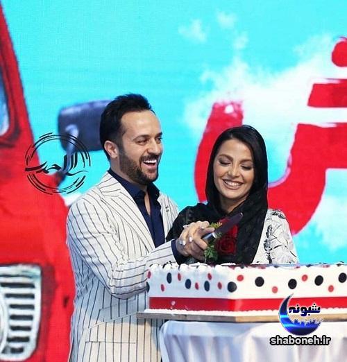 احمد مهرانفر و مونا فائزپور در اکران خجالت نکش