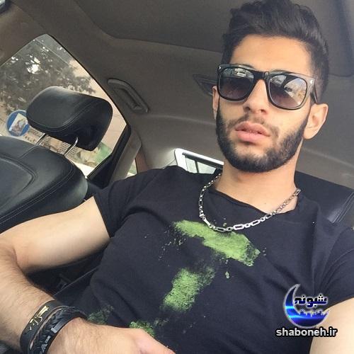 سلفی میلاد عبادی پور بازیکن والیبال