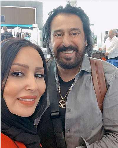 عکس پرستو صالحی بازیگر و همسرش +عکس از کودکی تا خانواده