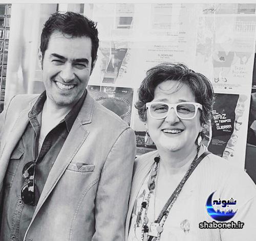 عکس شهاب حسینی در آمریکا با طرفدارانش