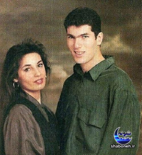 بیوگرافی زین الدین زیدان و همسرش