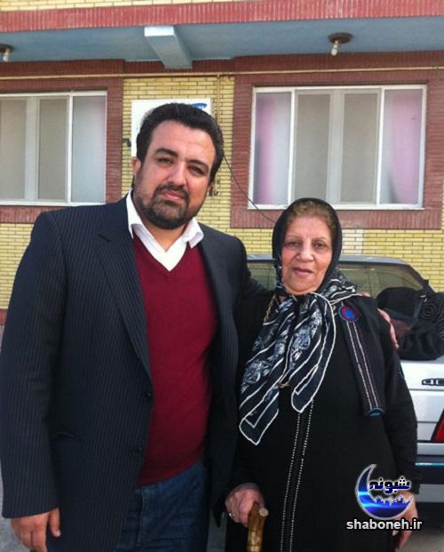 بیوگرافی محمدرضا حسینی بای خبرنگار و مادرش