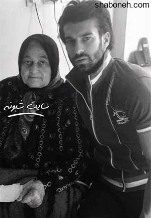 بیوگرافی و عکس رامین رضاییان فوتبالیست و مادرش