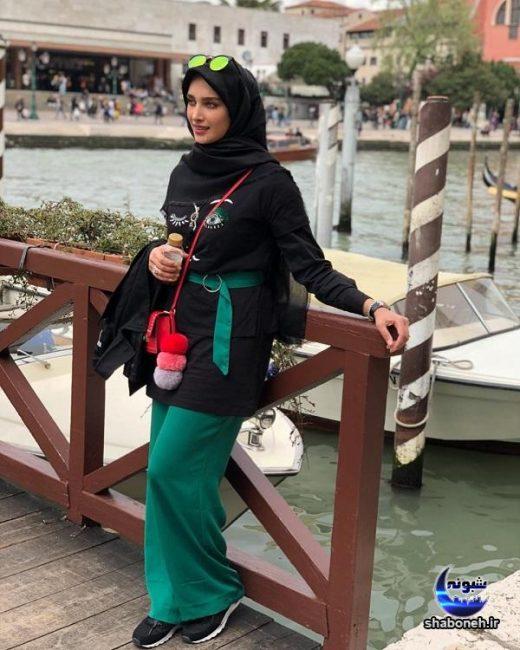 بیوگرافی و عکس آناشید حسینی