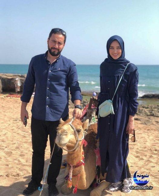 بیوگرافی آناشید حسینی مدل و همسرش امیرحسین مرادیان
