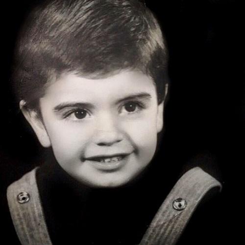 عکس کودکی بهرنگ علوی بازیگر