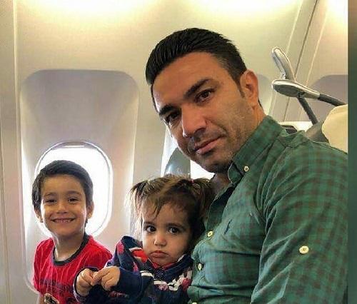 بیوگرافی جواد نکونام و همسرش و دختر و پسرش و فرزندانش
