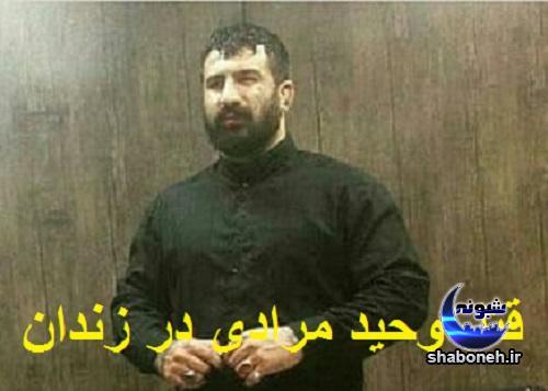 به قتل رسیدن وحید مرادی در زندان