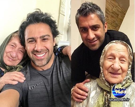 مادر فرزاد و فرهاد مجیدی فوتبالیست