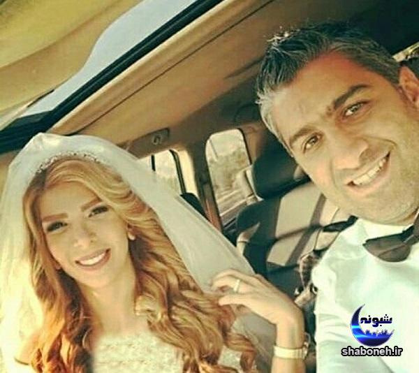 بیوگرافی فرزاد مجیدی فوتبالیست و همسرش