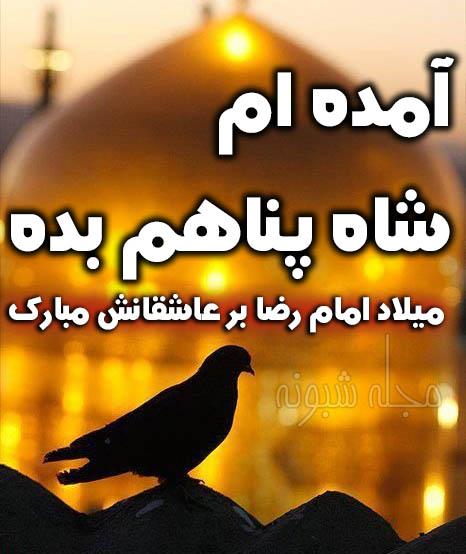 پیامک تبریک تولد امام رضا مبارک | عکس پروفایل و استوری ولادت امام رضا مبارک