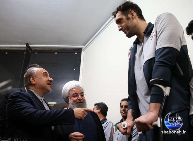 بیوگرافی مرتضی مهرزاد و همسرش (والیبال نشسته بلند قد) +بیماری و عکس
