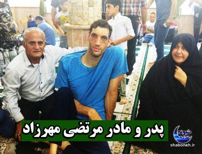 بیوگرافی مرتضی مهرزاد والیبالیست و همسرش و پدر و مادرش + تصاویر خانواده
