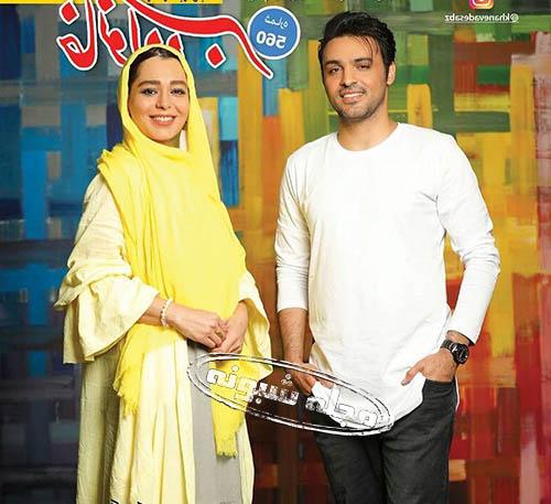 سامان صفاری و سانیا سالاری بازیگر نقش امیر و ارغوان در سریال دلدادگان + تصاویر جنجالی سامان صفاری