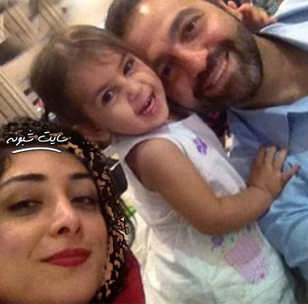 بیوگرافی آرش مجیدی و همسرش میلیشا مهدی نژاد +دختر میشا