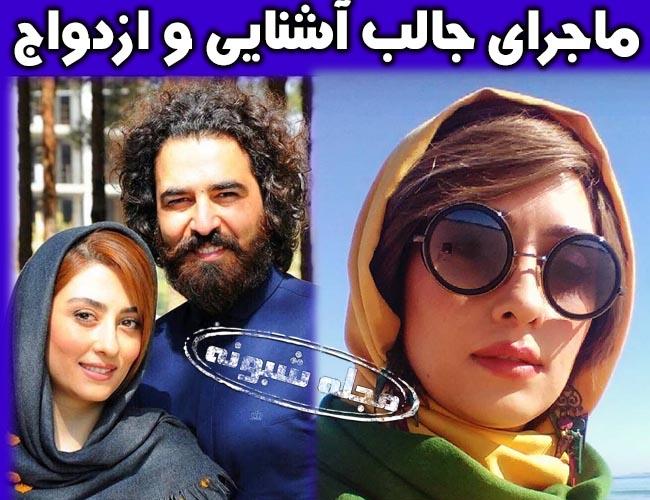 الهام طهموری بازیگر | بیوگرافی الهام طهموری و همسرش حامد احمدجو