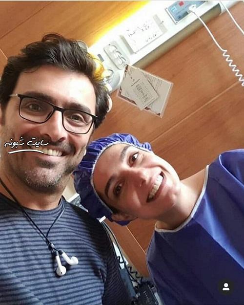 بیوگرافی الیکا عبدالرزاقی و همسرش بیمارستان (بازیگر نقش یلدا در سریال سرباز)