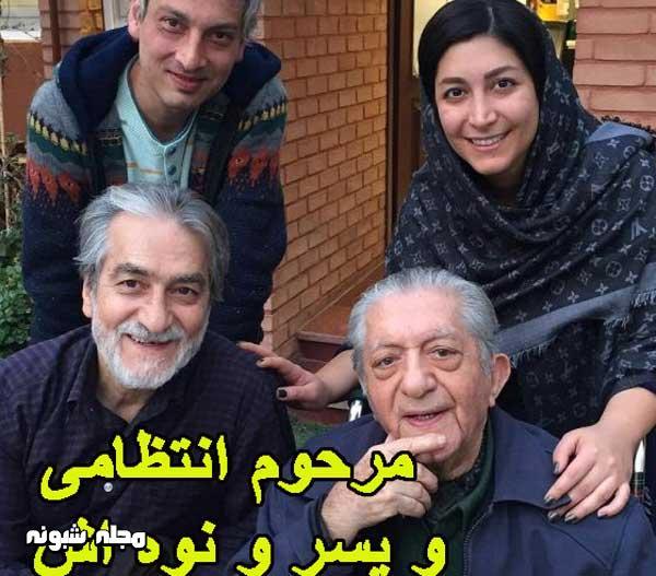 بیوگرافی عزت الله انتظامی و همسرش