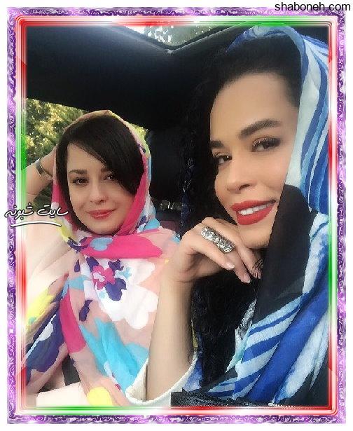بیوگرافی و عکسهای ملیکا شریفی نیا و خواهرش مهراوه شریفی نیا