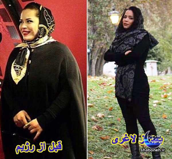 بیوگرافی ملیکا شریفی نیا قبل و بعد از لاغری
